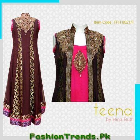 Teena by Hina Butt Formal Dresses 2013