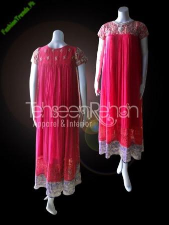 Tehseen Rehan Winter Dresses 2013