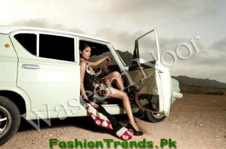 Waseem Noor Pret Wear Dresses 2013