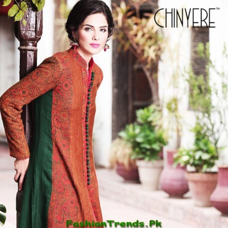 Chinyere Winter Dresses 2013