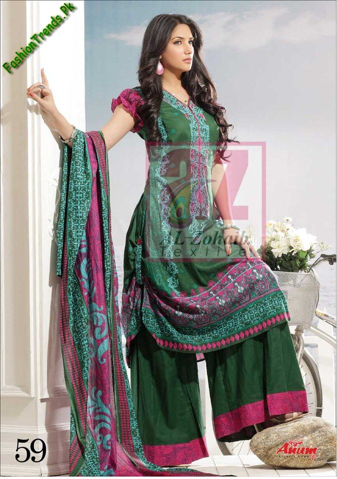 Anum Lawn Collection 2013 20 - Dress Of 7th june 2013