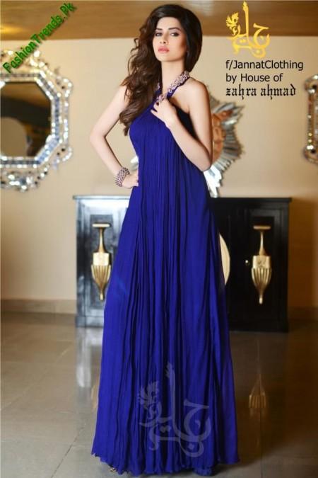 Jannat Nazir Art Wear Dresses 2013