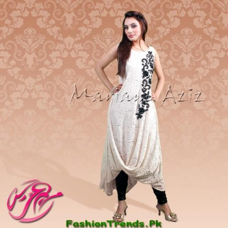 Mariam Aziz Party Wear Dresses 2013