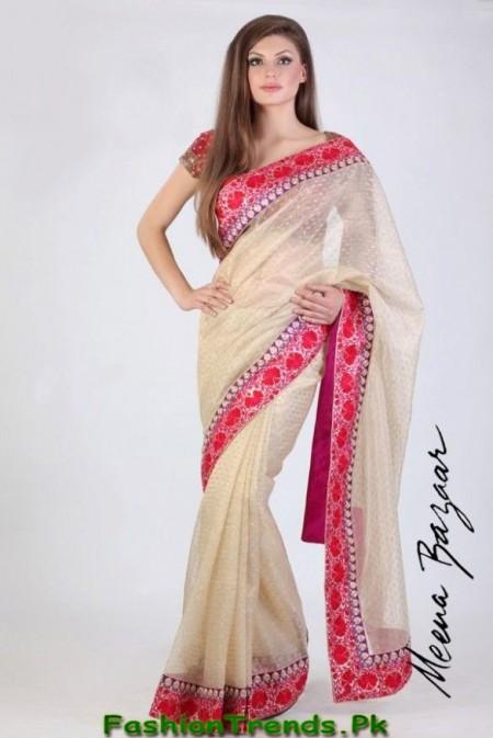 Meena Bazar Saree Collection 2013