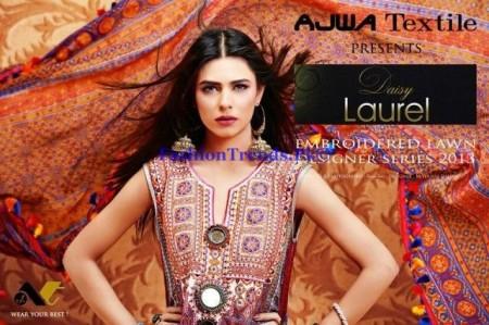 Ajwa Textile Summer Lawn Dresses 2013
