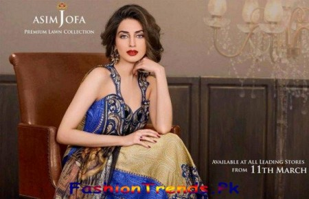 Asim Jofa Lawn Collection 2013