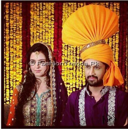 Atif Aslam Wedding Pics