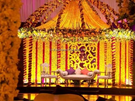 Atif Aslam & Sara Bharwana Mehndi Pictures
