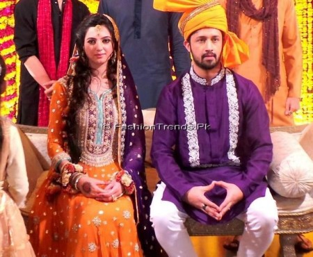 Atif Aslam Marriage Photos