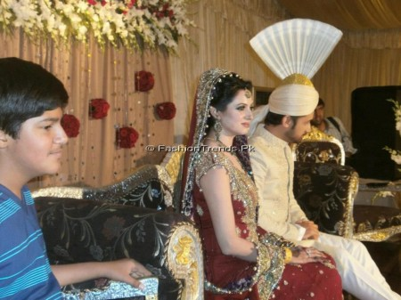 Atif and Sara Baraat Pictures
