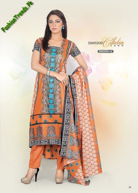 DAWOOD Spring Lawn Dresses 2013