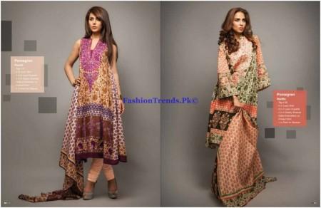 Deepak Perwani Spring Summer Collection 2013 by Orient Textile