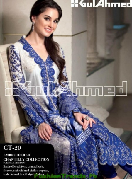 Gul Ahmed Summer Dresses Collection 2013
