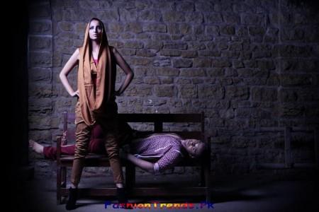 Ishtiaq Afzal Khan Western Wear Collection 2013