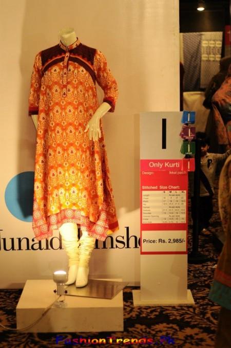 Junaid Jamshed Spring Kurtis 2013