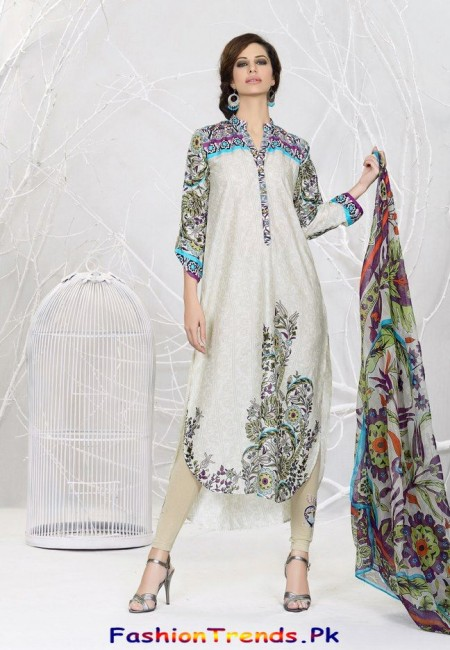 Khaadi Lawn 2013 Turkish Collection