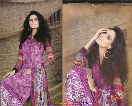 Lala Textile Spring Lawn Collection 2013