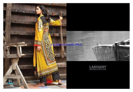Lakhany Zunuj Embroidered Collection 2013