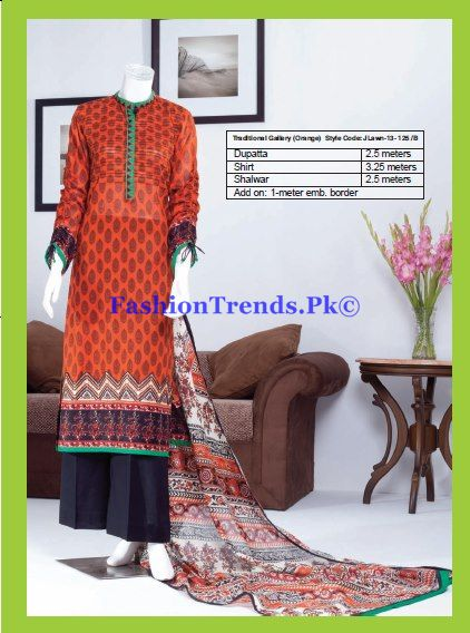 Lawn Prints 2013 Exotic Collection