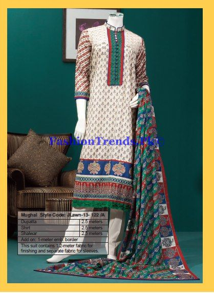 Lawn Prints 2013 Falunt it Collection