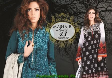 Maria B. Lawn Dresses 2013