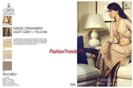 Nida Azwer Lawn 2013 Premium Edition