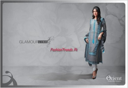 Orient Textile Glamourline Lawn 2013