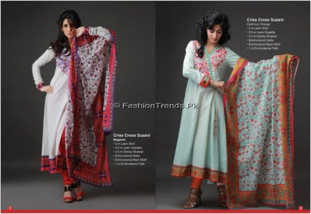 Orient Textile Threadline Lawn 2013