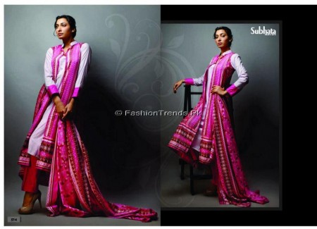 Subhata Lawn Collection 2013 Vol 2
