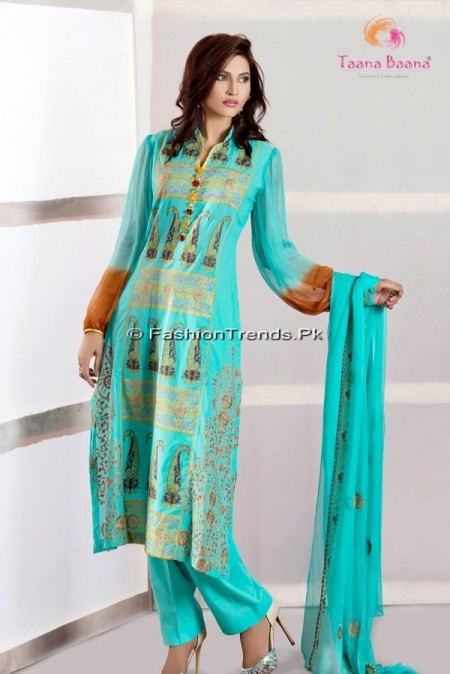 Taana Baana Summer Lawn Collection 2013