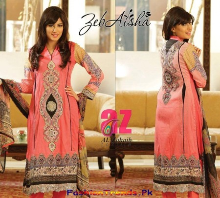 ZebAisha Spring Dresses Collection 2013