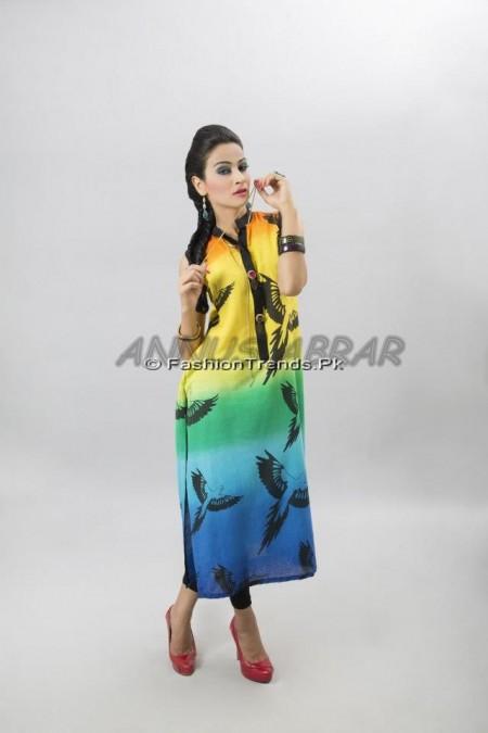 Annus Abrar Summer Dresses 2013