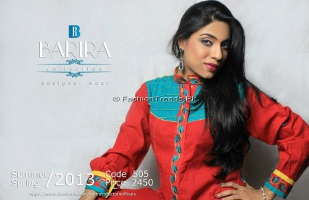 Barira Collection Summer Dresses 2013