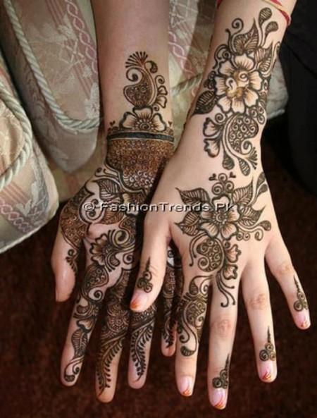 Bridal Mehndi Designs 2013