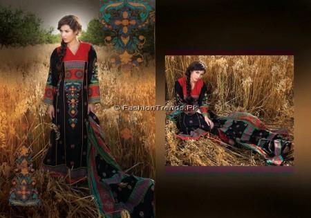 Ittehad 4 Piece Lawn Suits 2013