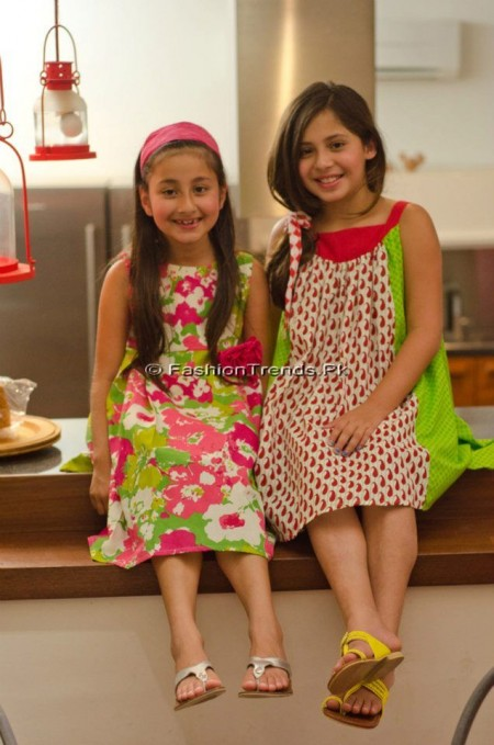 Khaadi Kids Summer Collection 2013