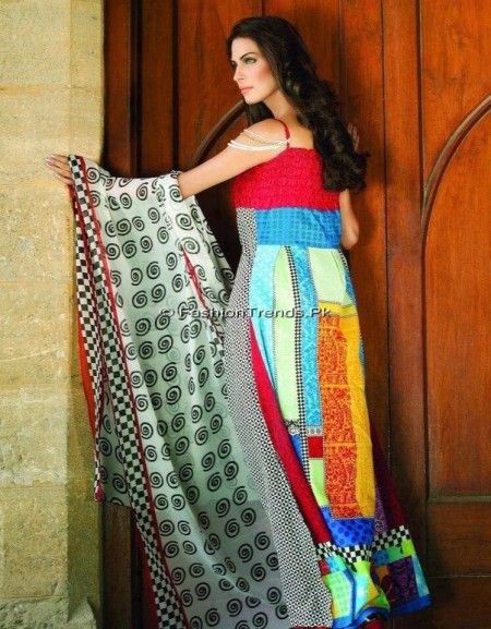 Nadia Khan Lawn Collection 2013