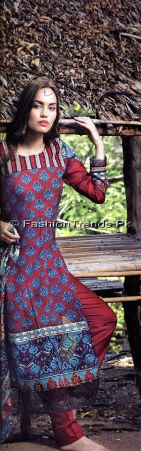 Firdous Korean Lawn 2013