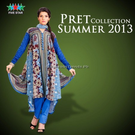 Five Star Textiles Pret Collection 2013