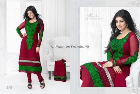 Aashri Creations Party Dresses 2013 (3)