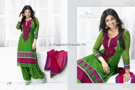 Aashri Creations Party Dresses 2013 (4)