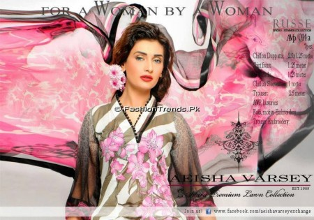 Aeisha Varsey Premium Lawn Collection 2013