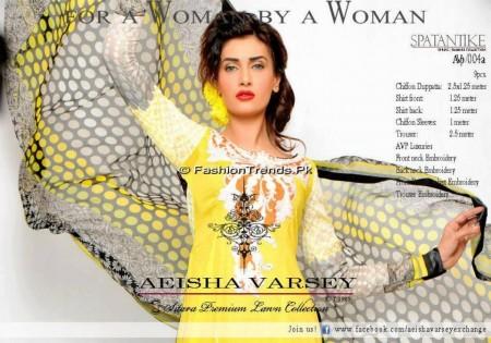 Aeisha Varsey Premium Lawn Collection 2013