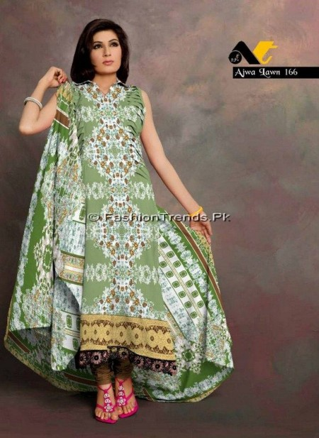 Ajwa Lawn Collection 2013 Vol 2 02