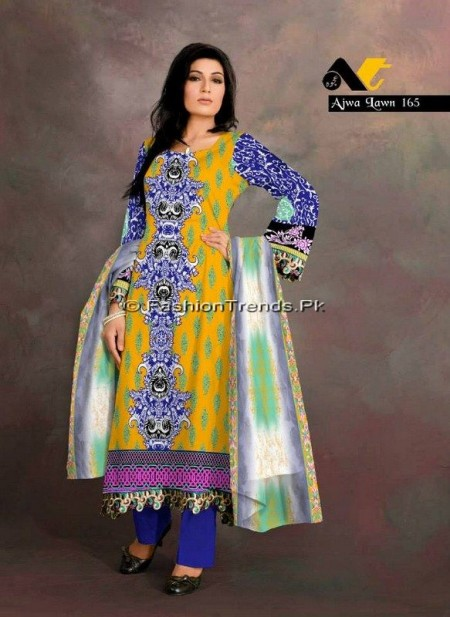 Ajwa Lawn Collection 2013 Vol 2 04