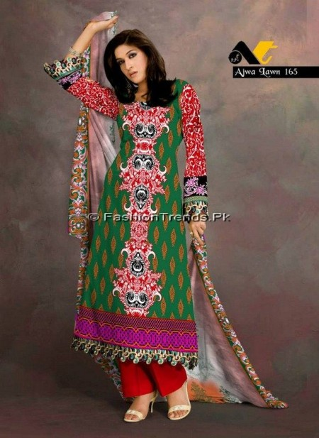 Ajwa Lawn Collection 2013 Vol 2 (8)