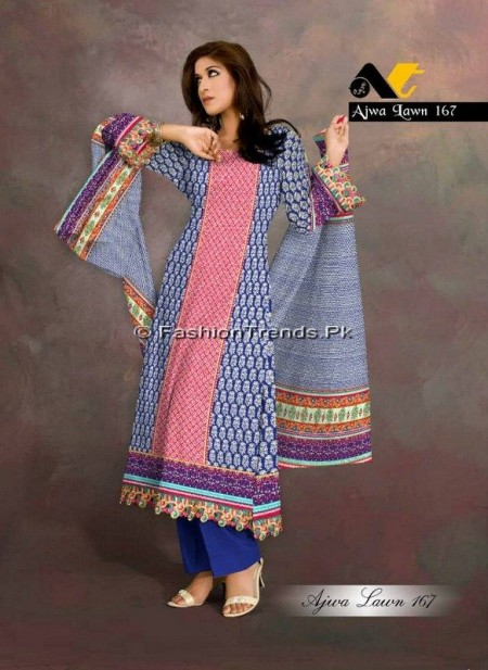 Ajwa Lawn Collection 2013 Vol 2 (9)