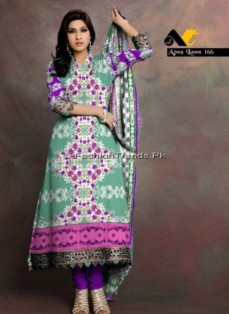 Ajwa Lawn Collection 2013 Vol 2 (13)