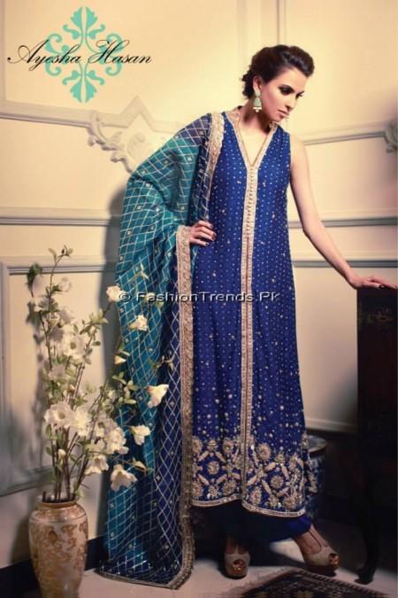 Ayesha Hasan Formal Wear Dresses 2013 (1)