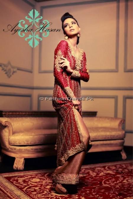 Ayesha Hasan Formal Wear Dresses 2013 (3)
